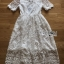 Lady Meredith Delicate Little Flower White Lace Dress thumbnail 7