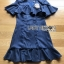 Maria Double-Breasted Dress Lady Ribbon thumbnail 7