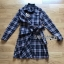 Lady Rachel Ribbon Twist Tartan Wool Shirt Dress thumbnail 8