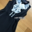 Lady Veronica Sleeveless Black Dress thumbnail 7