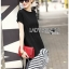 Black Ruffle Lady Ribbon Dress thumbnail 4