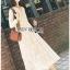 Midi Dress Lady Ribbon with Slip Dress thumbnail 4