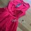 Lady Lara Sexy Scarlett Rose Embroidered Dress thumbnail 4