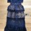 Layered Lace Dress เดรสผ้าลูกไม้สีน้ำเงิน thumbnail 10