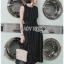 Lady Ribbon Sleeveless Dress เดรสแขนกุดมินิมัล thumbnail 2
