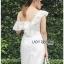 Elegant Middle Lady Ribbon Cotton Dress thumbnail 4