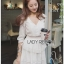 Lady Rosie Layered Lace and Chiffon Mini Dress thumbnail 1