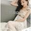 Lady Lauren Cotton with Lace Dress thumbnail 2