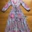 Modern Bohemian Floral Printed Lady Maxi Dress thumbnail 6