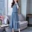เสื้อกางเกงงานเกาหลี ผ้าทอเนื้อดีผ้านุ่ม thumbnail 4
