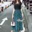 เซตเสื้อ+กระโปรง ดีไซน์เสื้อลูกไม้ทอลาย thumbnail 3