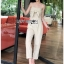 Lady Lily Casual Chic Ribbon Jumpsuit thumbnail 5