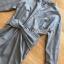 Twist Ribbon Shirt Dress thumbnail 5