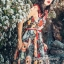 Maxi Dress เกาหลีเดรสสายเดี่ยว thumbnail 4
