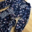 Lady Monica Floral Patterned Printed Wrap Dress thumbnail 4