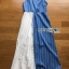 Two-Tone Striped Twisted Lady Ribbon Dress thumbnail 7