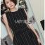 Lady Ribbon Sleeveless Dress เดรสแขนกุดมินิมัล thumbnail 4