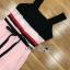 Lady Maddie Striped Ribbon Pleated Dress thumbnail 7
