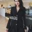 Smart Elegant Lady Ribbon Suit Dress thumbnail 1
