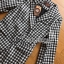 Chic Black and White Lady Ribbon Checked Suit thumbnail 4