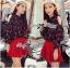 Lady Elena Mini Cherries Cut-Out Chiffon thumbnail 2