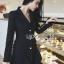 Smart Elegant Lady Ribbon Suit Dress thumbnail 3