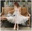 Lady Lauren Cotton with Lace Dress thumbnail 1