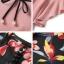 เซตเสื้อ+เอี้ยมกางเกง ตัวเสื้อสีชมพูแขนระบาย thumbnail 7