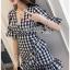 Dress Lady Ribbon เดรสผ้าลายสก็อต thumbnail 1