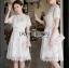Lady Katie Sweet White Mini Dress thumbnail 2