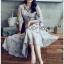 Chiffon Shirt Dress เชิ้ตเดรสผ้าชีฟอง thumbnail 3