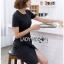 Lady Taylor Minimal Chic Striped Dress thumbnail 5