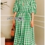 Lady Hazel Easy Summer Checked Dress thumbnail 4