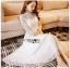 Lace Dress เดรสผ้าลูกไม้สีออฟไวท์ thumbnail 3