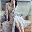Chiffon Shirt Dress เชิ้ตเดรสผ้าชีฟอง thumbnail 2
