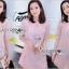 Qipao Dress เดรสทรงกี่เพ้าผ้าชีฟองสีโอลโรส thumbnail 1