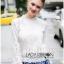 Lady Becca Smart White Lace Blouse thumbnail 4