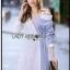 Shirt Dress Lady Ribbon เชิ้ตเดรส thumbnail 2