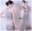 Silk Chiffon Lady Mermaid Dress thumbnail 2
