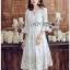 Chiffon Dress Lady Ribbon ขาย เดรสผ้าชีฟอง thumbnail 3