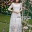 Lady Eves Princess Style White Lace Dress thumbnail 1