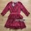 Lady Rosie Layered Lace and Chiffon Mini Dress thumbnail 6