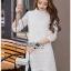 Lady Diamond Sweet White Lace Dress thumbnail 2