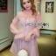 Pink Chiffon Dress มินิเดรสผ้าชีฟองสีขมพู thumbnail 4