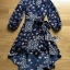 Lady Monica Floral Patterned Printed Wrap Dress thumbnail 6