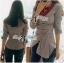 Lady Andrea Minimal Avant-Guard Detailed Shirt thumbnail 4