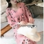 Soda Pretty Pink Floral Dress thumbnail 2