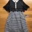 Lace Collared Lady Ribbon Dress thumbnail 8