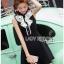 Lady Veronica Sleeveless Black Dress thumbnail 3