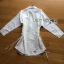 Chic Side-Lace Up Lady Ribbon Shirt Dress thumbnail 6